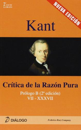 KANT CRITICA DE LA RAZON PURA (Filosofia - Dialogo)