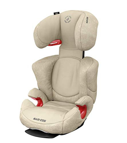 Maxi-Cosi Rodi AirProtect - Asiento infantil para coche con altura regulable y posición de descanso cómoda, grupo 2/3 (15-36 kg), útil a partir de 3,5 a 12 años, color marrón