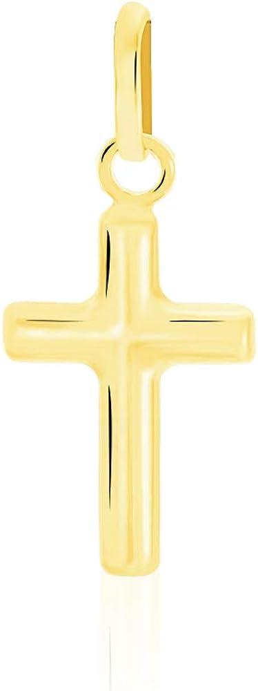 stroili  ciondolo croce in oro giallo 9 kt /375 unisex 1409475