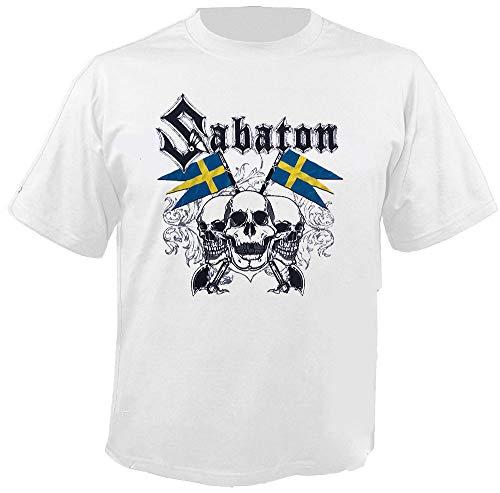 Sabaton - Swedish Pagans - White - T-Shirt Größe XL