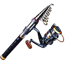 Sougayilang Fishing Rod Reel Combos - Best Fishing Rod and Reel Combos
