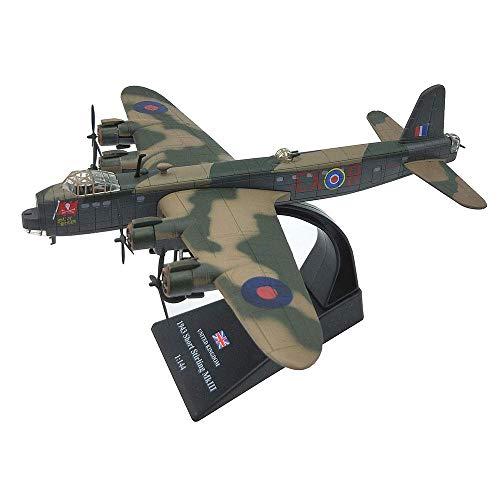 GLXLSBZ Modelo de plástico de Combate a Escala 1/144, coleccionables y Regalos para Adultos de Bombardero Pesado soviético Stirling, 8,1 Pulgadas x 7,7 Pulgadas