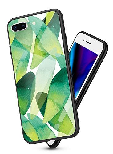 Oihxse Cover Compatibile per iPhone 6 iPhone 6s Cover Ultra Sottile Resistente per iPhone 6 iPhone 6s Custodia,Nero Silicone Bumper e etro Temperato AntiGraffio Antiurto Protettiva Case Disegni (A5)