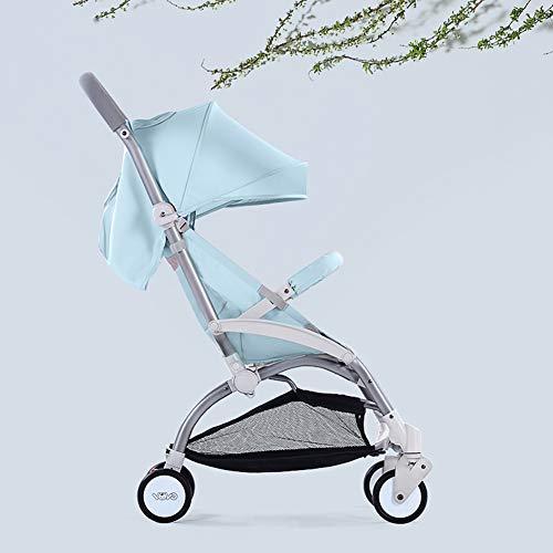 Poussette canne légère, Ultra compacte Pliable Landau bébé-Parapluie pour Poussette, siège d'avion/siège inclinable/Inutile d'installer, du bébé au Tout-Petit, Poids 25 kg / 55 LB