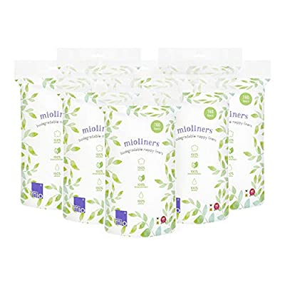 Bambino Mio, Mioliners (Diaper Liners), 8 Pack