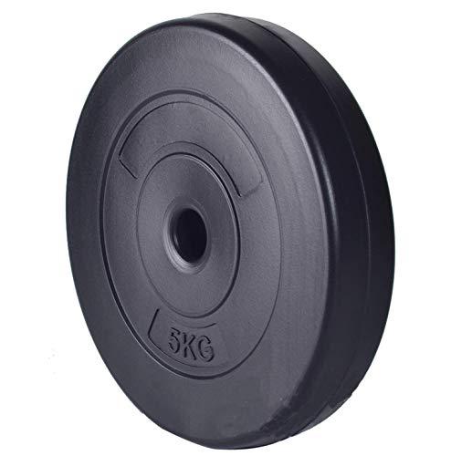 Saving Plus 2X5KG WEIGHT LIFTING PLATES/DISCS GYM TRAINING DUMBBELL BAR VINYL UK