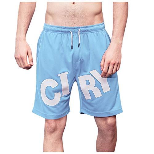 Maillots de Bain Homme Short de Bain Bermuda Séchage Rapide Garçons Court de Plage Sport Natation Casual avec Cordon Réglable Élastique Tailles S-2XL