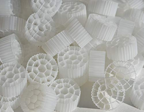 2 Cubic Foot K3 Filter Media Moving Bed Biofilm Reactor (MBBR) for...