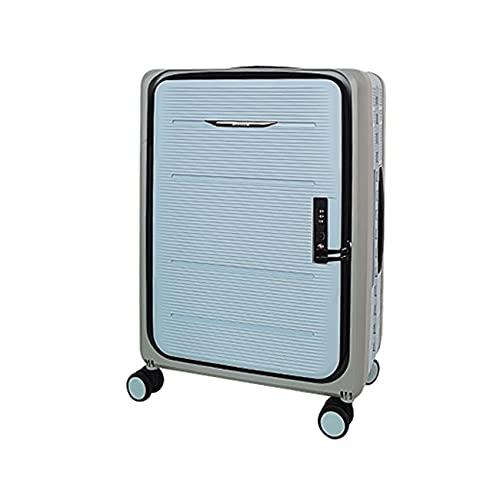 QIXIAOCYB Caja plegable de la maleta de la maleta de la maleta de la maleta plegable con la caseta de la carretilla de rueda universal con incorporado TSA Cerradura de combinación perfecta for la escu