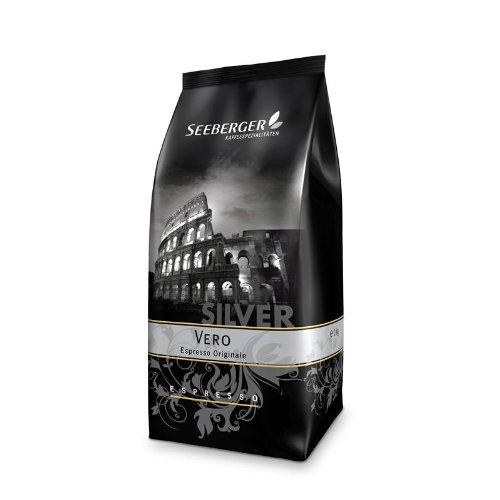 Seeberger Kaffee Espresso VERO Silver 1000g Bohnen