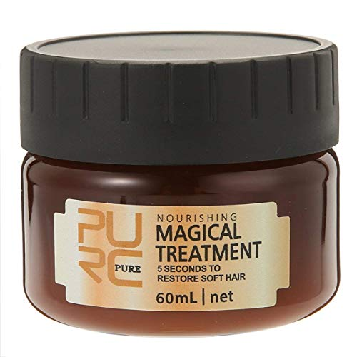 PURC 60ml Magical Treatment Mask Repairs Damage Restore Soft Hair Care 5 Seconds Repairs Damage Hair Root
