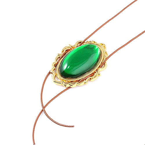 Necklaces Jewelry Gifts Pendants Anime Violet Evergarden Necklace Cospaly Props Pendant Green Crystal Accessories Jewelry