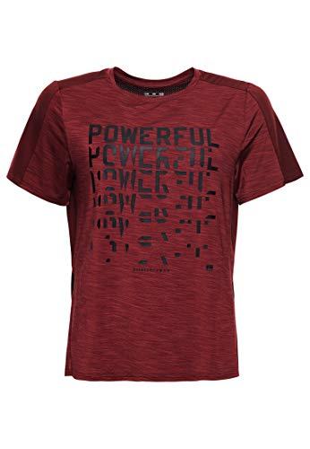 Superdry Damen Training TECH Touch Tee T-Shirt, Volt, 16