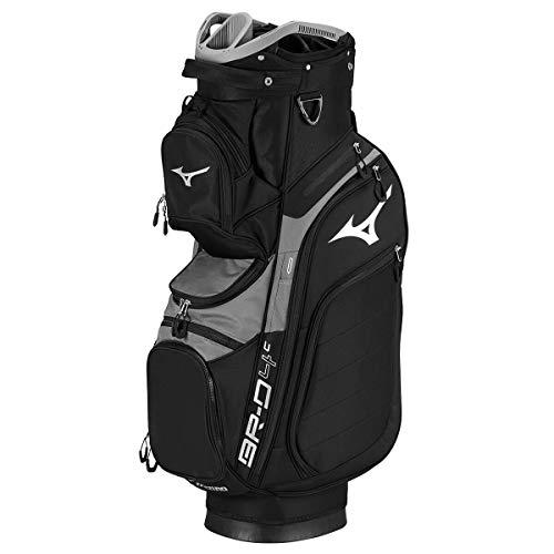 Mizuno BRD4 Cart 2019 Golftasche, Unisex, Erwachsene, Schwarz, FR. Hersteller: Einheitsgröße