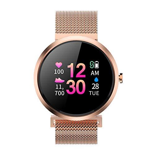 Nuevo Bluetooth V06C Lady Pulsera Inteligente Reloj IP67 Monitor De Ritmo Cardíaco Fitness Tracker Pedómetro Deportivo Pulsera,f
