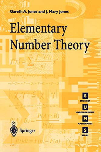 Compare Textbook Prices for Elementary Number Theory Springer Undergraduate Mathematics Series Corrected Edition ISBN 9783540761976 by Jones, Gareth A.,Jones, Josephine M.