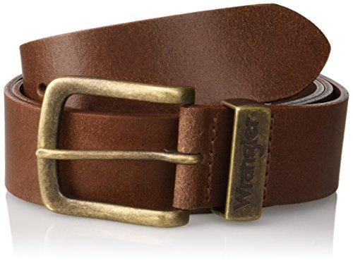Wrangler Metal Loop Belt, Marrone (Cognac 6K), 95 Uomo