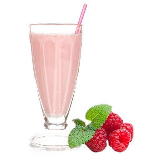 1 Kg Himbeer Geschmack Eisgetränkepulver für 9 Liter Smoothi Slush Sorbet Granita Eisgetränke Eis Cocktails