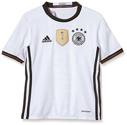 adidas DFB H Jsy Y - Camiseta para niño, Euro 2014, color blanco / negro, talla 152
