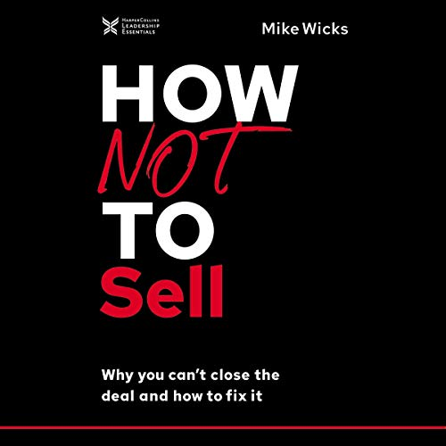 Couverture de How Not to Sell