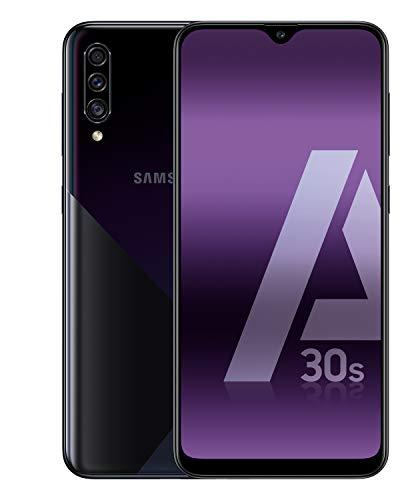 Samsung Galaxy A30s - Smartphone de 6.4' Super AMOLED (4 GB RAM, 128 GB ROM) negro [Versión española]