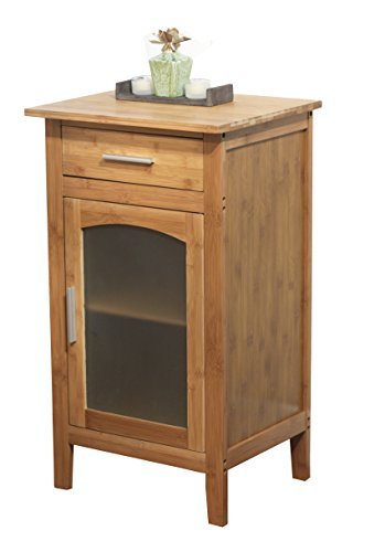 Target Marketing Systems Bamboo Floor Cabinet, Natural