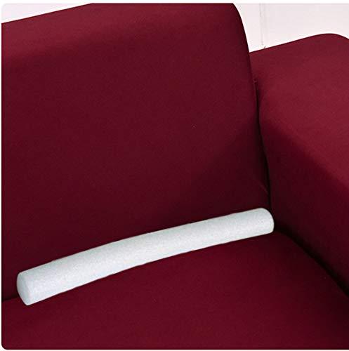 Xpnit - Rivestimento antiscivolo in schiuma per divano e divano, con cuciture elasticizzate, per fissaggio in schiuma (10 pezzi, diametro 3 cm)