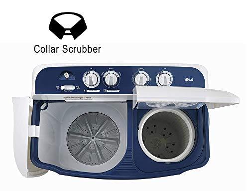 LG 6.5 Kg 4 Star Semi-Automatic Top Loading Washing Machine (P6510NBAY, Dark Blue, Rat Away Technology) 4