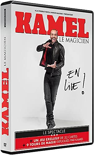 Kamel Le Magicien-en Live [DVD + 1 Jeu de 52 Cartes]