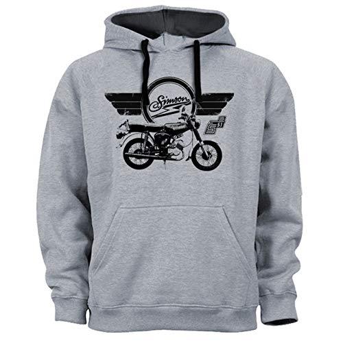 O-Clothes Simson S51 Kapuzenpullover grau (XXL)