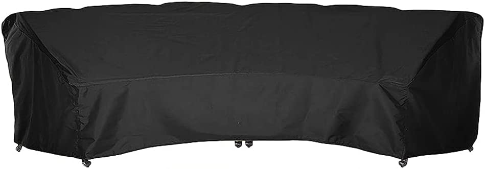 JC Curved Sofa Cover Covers Outdoor lowest Max 66% OFF price Furniture Waterproof