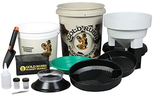 Gold Rush Nugget Bucket - Gold Panning and Prospecting Kit (Camouflage)