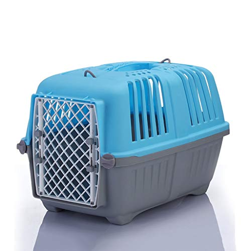 ZCWYP Transport in the Plane Travel Outdoor Practical Detachable Pet Carrier Box Cage (Size : Large)