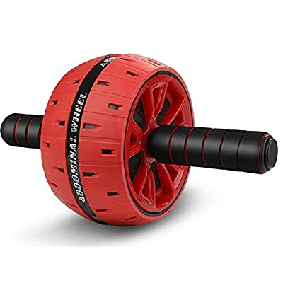 LIGOU Ab Roller for Abs Workout, Ab Roller Whee...