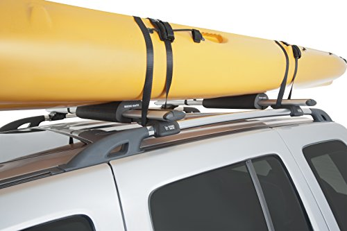 Rhino Rack Vortex Roof Rack Wrap Pads, Easy Use & Installation; for All Vehicles; 4WD, Pick Up Trucks, SUV's, Wagon's, Sedan's; Lightweight, Low Profile, UV Protected, Sold as a Pair, Small (RWP01)