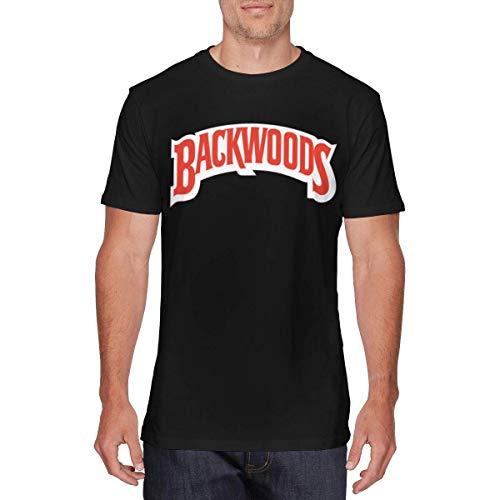 DianaLHodge Mens Cool Backwoods Cigars JR Cigar Tees Black,Black,Medium