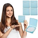 4 Piezas Caja de Almacenaje de Cubierta Facial Organizador Caja de Cubierta de...