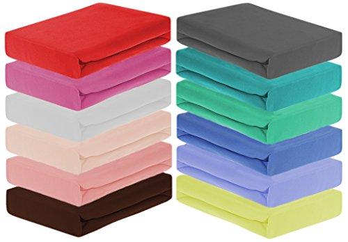 Home-Impression Winter Thermo Soft Fleece Spannbettlaken, Spannbetttücher aus Microfaser Fleece, Laken, Betttuch, Grösse 140-150x200cm, Farbe: Beige/Natur/Ecrue
