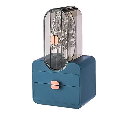 Zuoye Caja de almacenamiento de joyería multifuncional de gran capacidad pendientes collar caja de joyería portátil estilo chino retro