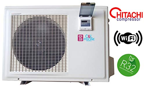 Pompe à Chaleur Piscine NRJ-10 9,8kW R32 WiFi / 80m3