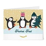 Amazon.de Gutschein zum Drucken (Pinguin Freunde)