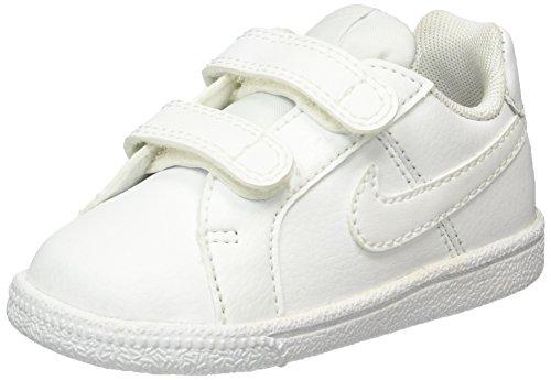 Nike Jungen Unisex-Kinder Court Royale (TDV) Sneaker, Weiß (White/White 102), 27 EU