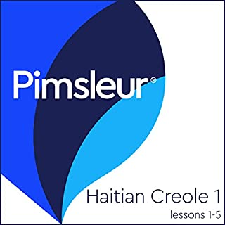 Haitian Creole Phase 1, Unit 01-05 audiobook cover art