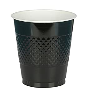 Big Party Pack Jet Black Plastic Cups   16 oz.   Pack of 50   Party Supply (B004UUK3X0)   Amazon price tracker / tracking, Amazon price history charts, Amazon price watches, Amazon price drop alerts