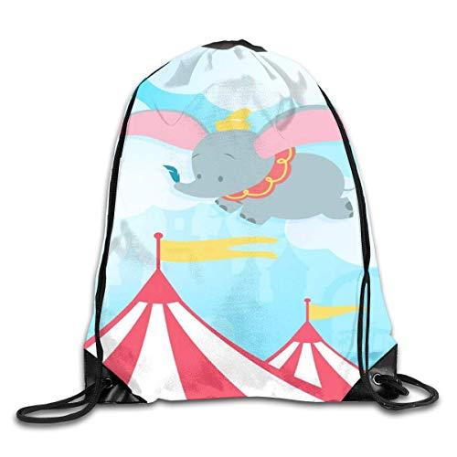 LREFON Happy M-Ouse Drawstring Bag Gym Mochila Hombre Mujer Sport Storage Bandolera
