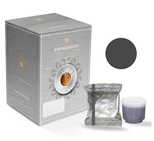 CAFFE' BARBARO Napoli Espresso 4.0 Compatibile Illy iperespresso Miscela Nera 80 pz (Attenzione - NO MACCHINE X7 PROFESSIONAL O MACCHINE PROFESSIONAL - CONTATTACI PER LE CAPSULE PROFESSIONAL)
