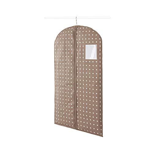 Compactor Funda corta para chaquetas, Gama Rivoli, Color beige, Tamaño 60 x 100 cm, RAN4390_B