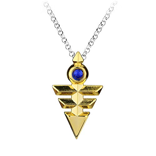 Anime Game Yu Gi Oh Millennium Items Puzzle Eye Pendant Necklace