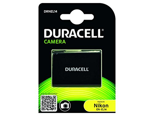 Duracell - Batteria Sostitutiva, Ricaricabile, per Macchina Fotografica Nikon EN-El14