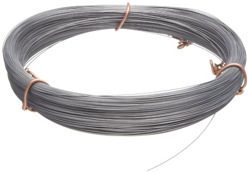 Check Out This High Carbon Steel Wire, #2B (Smooth) Finish, Full Hard Temper, ASTM A228, 0.055 Diam...